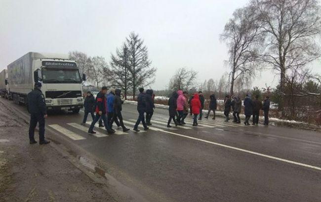 Протесты на границе с Польшей: движение у всех пунктов пропуска разблокировано