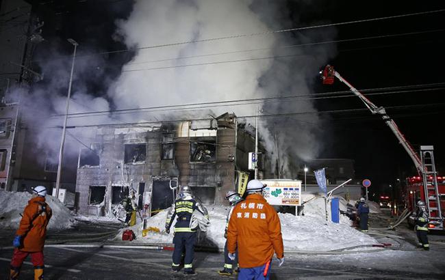 В Японии произошел пожар в социальном общежитии, 11 погибших