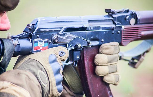 Боевики на Донбассе проводят учения с привлечением