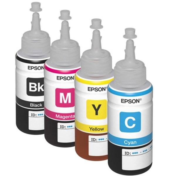 Фирменные чернила для принтеров Epson: 100% оригинал