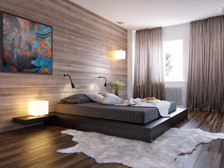 Какой дизайн и оттенок штор лучше подойдет для спальни?