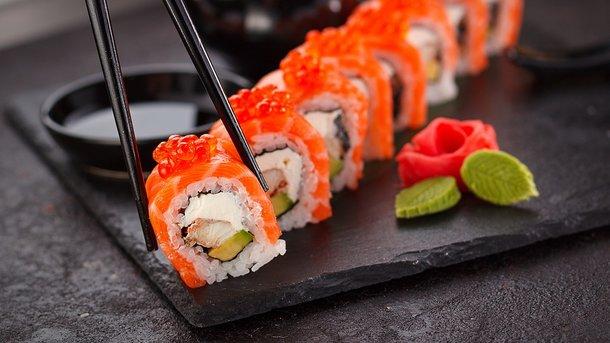 Вкусные суши во Львове