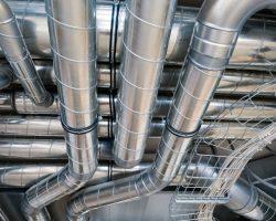 Монтаж систем кондиционирования и вентиляции