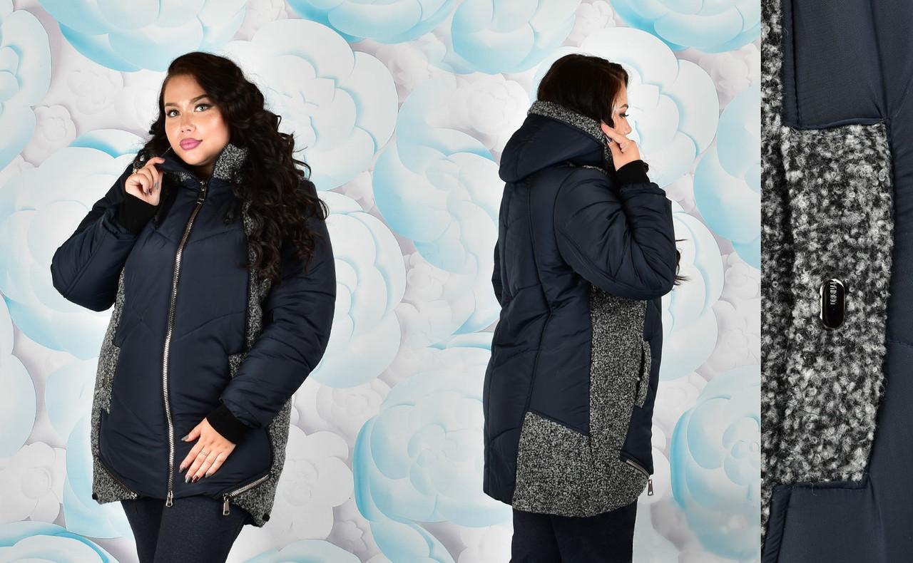 Куртки с мехом больших размеров
