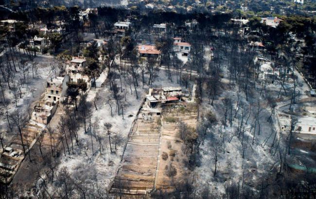 Причиной пожаров в Греции могут быть поджоги