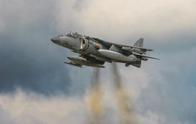 Испанский истребитель случайно запустил боевую ракету над Эстонией