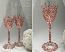 Свадебные бокалы и аксессуары для торжества