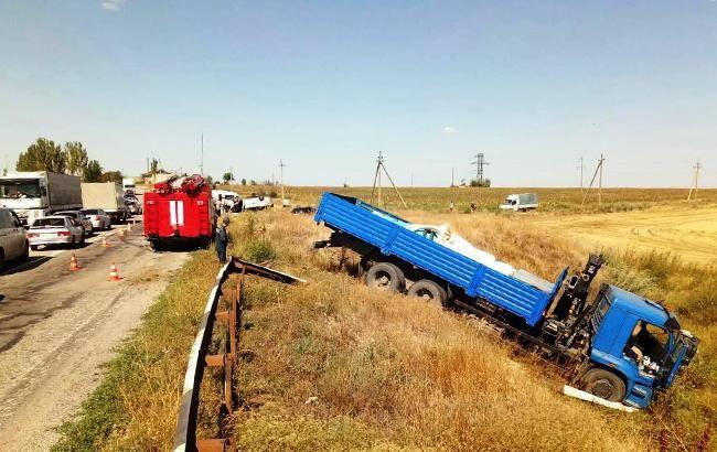 ДТП в Запорожье: полиция задержала водителя грузовика
