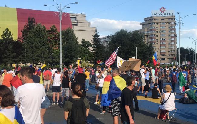 В Румынии продолжаются антиправительственные протесты