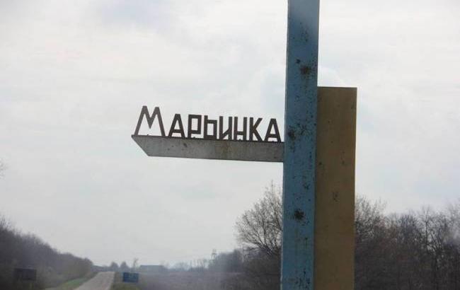 Боевики обстреляли Марьинку, ранен мирный житель