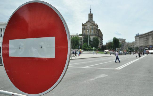В Киеве завтра из-за визита Меркель возможны ограничения движения транспорта