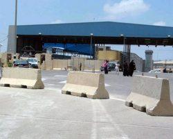Израиль закрыл два КПП на границе с сектором Газа