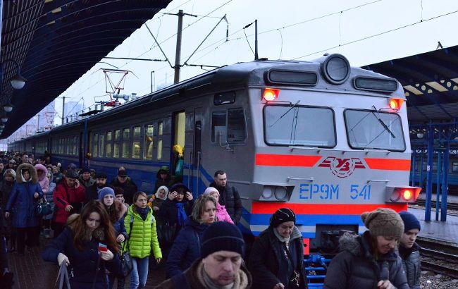 В Киеве с 28 октября изменится расписание городской электрички