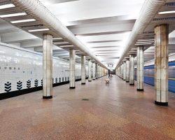 Ремонт на станции киевского метро