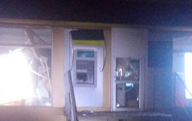 В Харькове ночью неизвестные взорвали банкомат