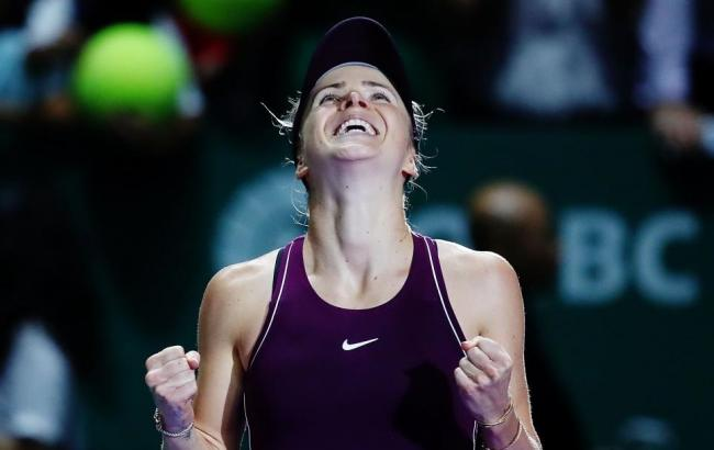 Победа Свитолиной над Возняцки в Сингапуре стала второй сенсацией года в WTA