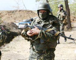 На Донбассе за сутки ранены двое украинских военных