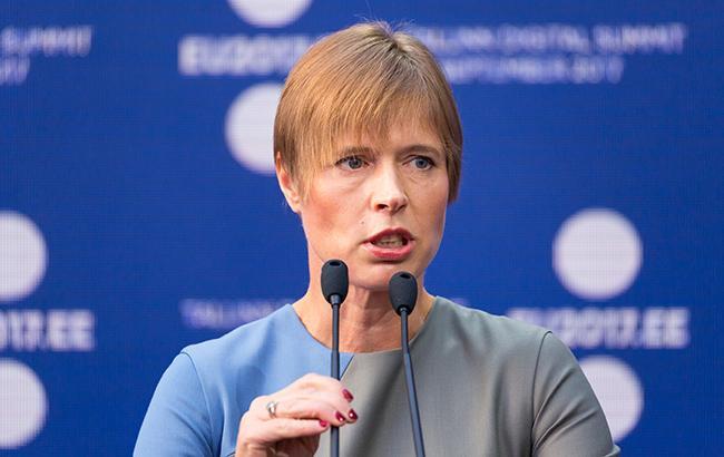 Президент Эстонии назвала нападение РФ на украинские корабли