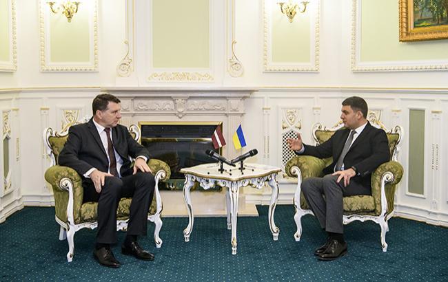 Латвия поддерживает стремление Украины к вступлению в ЕС и НАТО
