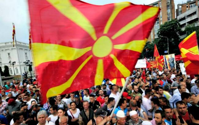 В Македонии протестуют против изменения названия страны