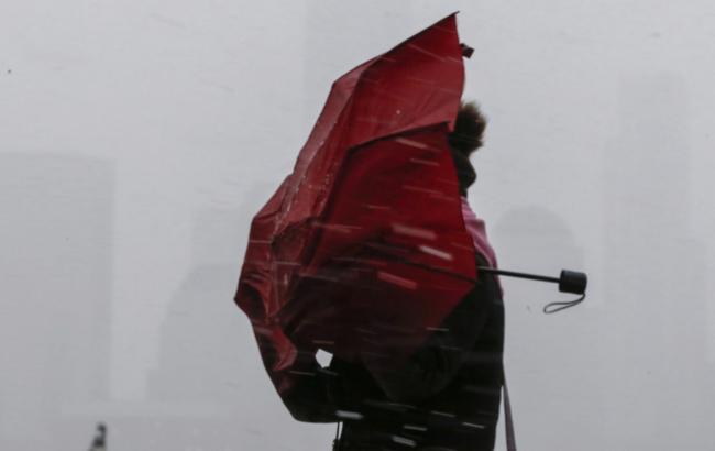 Синоптики предупреждают о сильном ветре в Украине