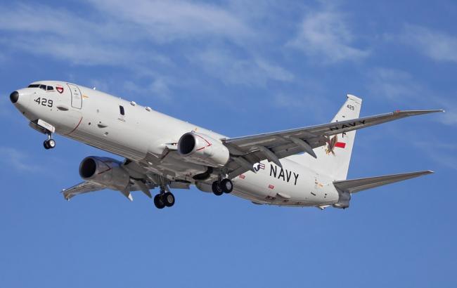 Самолет ВМС США провел разведку у оккупированного Крыма