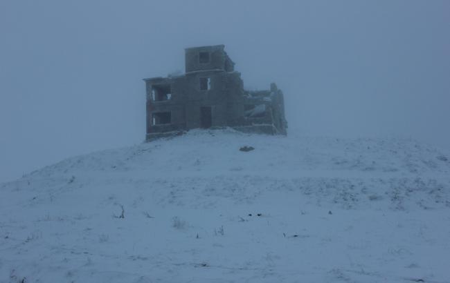 В Карпатах высота снежного покрова достигает 30 см