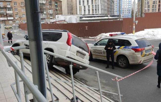 В Киеве произошла перестрелка возле супермаркета
