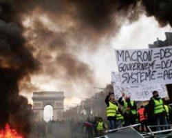 В Париже полиция задержала более 40 участников протестов