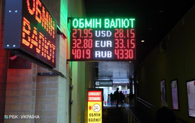 Наличный курс доллара упал еще на 15 копеек