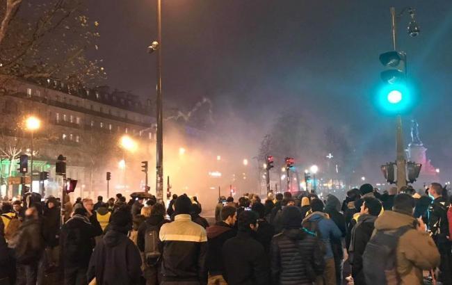 Протесты во Франции: количество митингующих достигло  125 тысяч человек