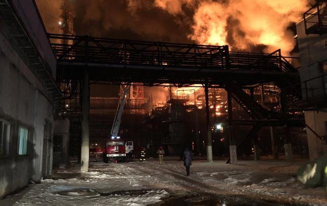 Пожар на заводе в Калуше локализовали