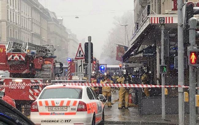 В Женеве в ресторане произошел взрыв