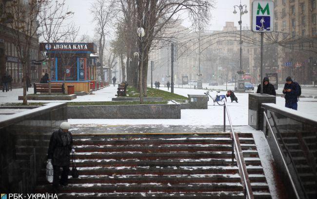 Синоптики предупредили о гололедице на дорогах Киева