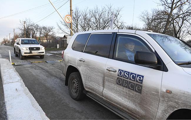 Боевики перекрыли наблюдателям ОБСЕ проезд через два блокпоста