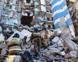 В Магнитогорске обрушилась часть взорвавшегося дома