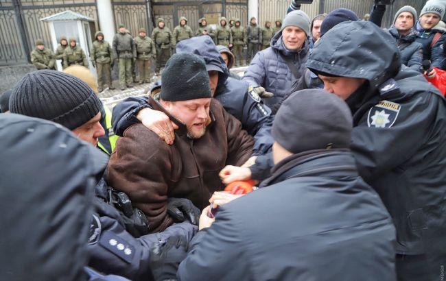 В полиции Одессы подтвердили задержание двух участников акции в поддержку пленных моряков