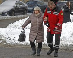 В Киеве сегодня гололедица на дорогах