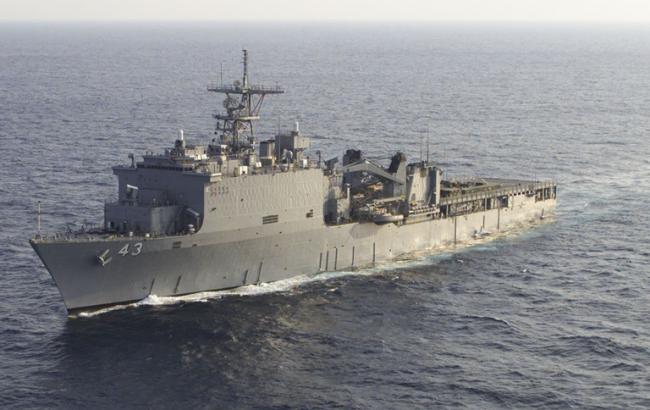 Десантный корабль ВМС США направился в Черное море