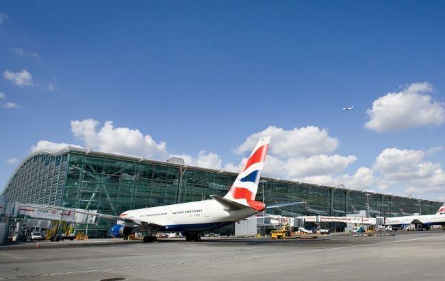 В Лондоне Boeing-777-300 совершил внеплановую посадку