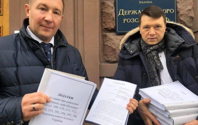 Янукович поручил адвокатам принести в ГБР заявление на высших должностных лиц
