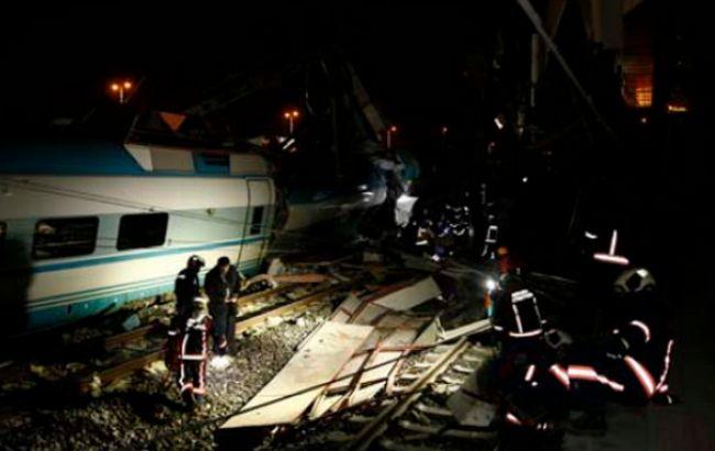 В Испании столкнулись два поезда, есть погибший, десятки пострадавших