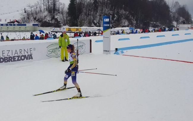 Биатлонистка Бех выиграла золото для Украины в спринте на юниорском ЧМ-2019