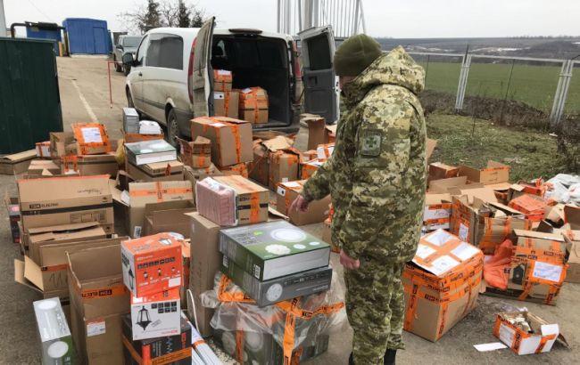 На границе с Молдовой обнаружили контрабанду электротоваров