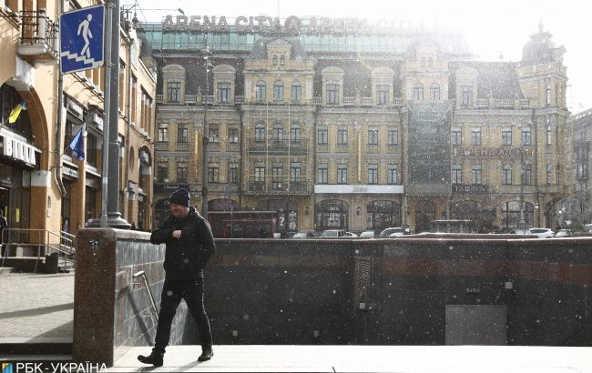 Погода на сегодня: в Украине снег с дождем, днем до +6