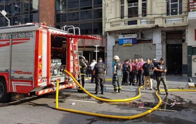 В Аргентине загорелся отель, есть погибшие и пострадавшие