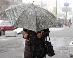 В Киеве в ближайшие дни прогнозируют мокрый снег