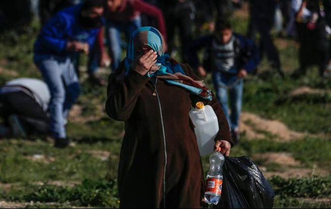 Во время протеста на границе в секторе Газа погиб человек