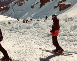 В Швейцарии лавина накрыла группу туристов