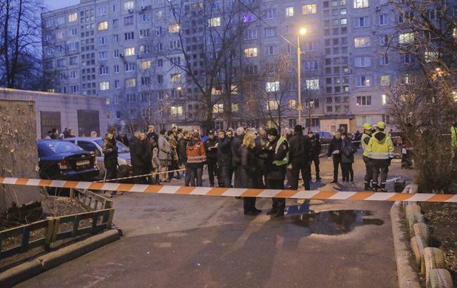 Полиция Киева открыла дело по факту взрыва в жилом доме